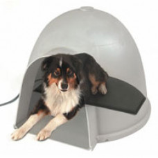 Igloo Style Heated Dog Bed Pads