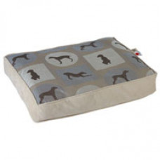 Crypton Wegman Posey Rectangle Dog Bed