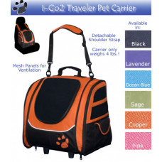 I-Go2 Traveler Pet Carrier by Pet Gear
