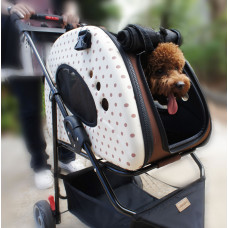 PetZip Mochi Pet Stroller/Carrier