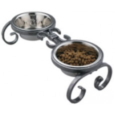 Mini Classic Wrought Iron Pet Feeder