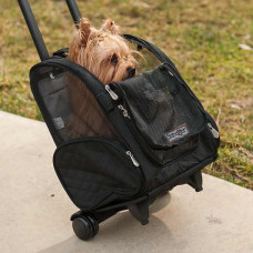 Snoozer Roll Around Pet Carrier on Wheels