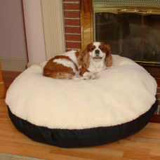 Snoozer Lambskin Round Pet Bed